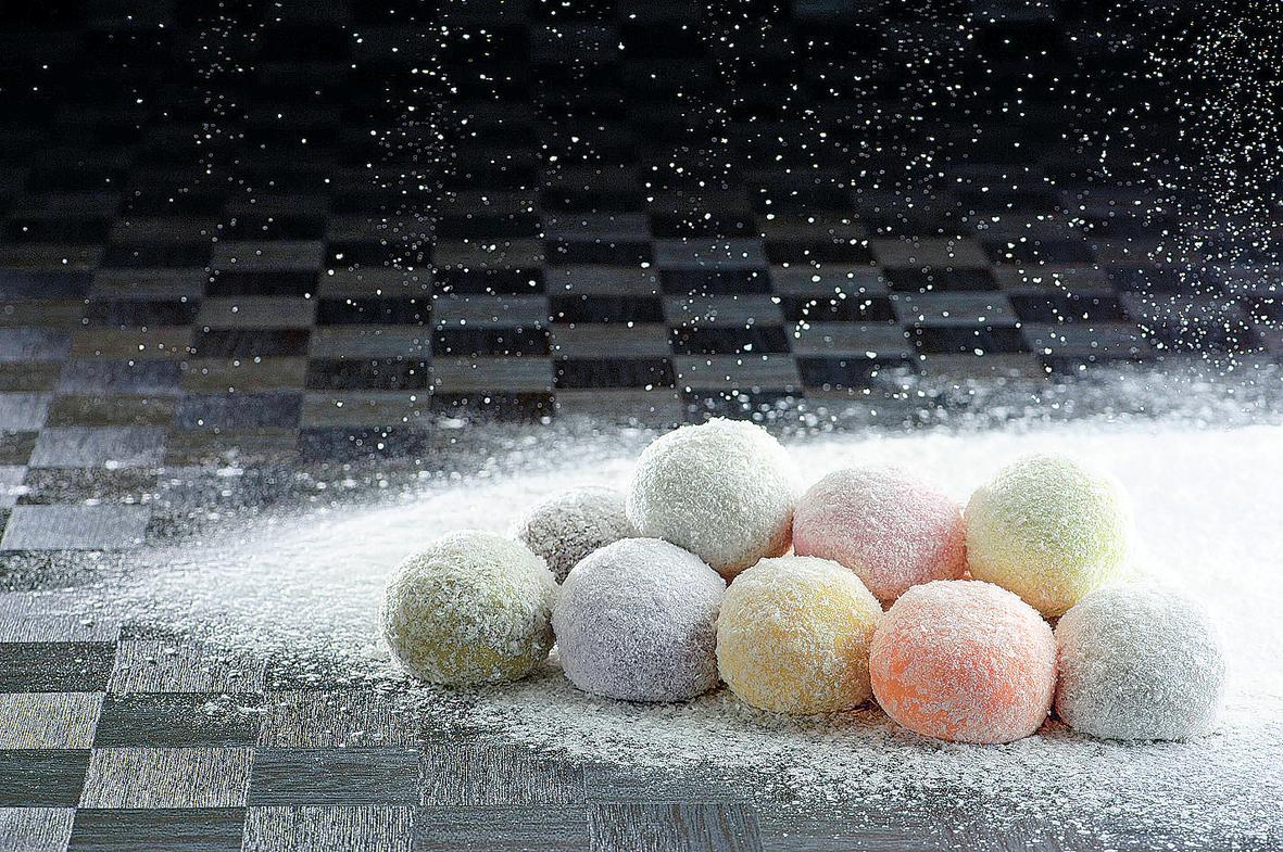 久慈川の氷華餅