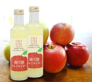 【いばらきMIYAGE】奥久慈りんごサイダー