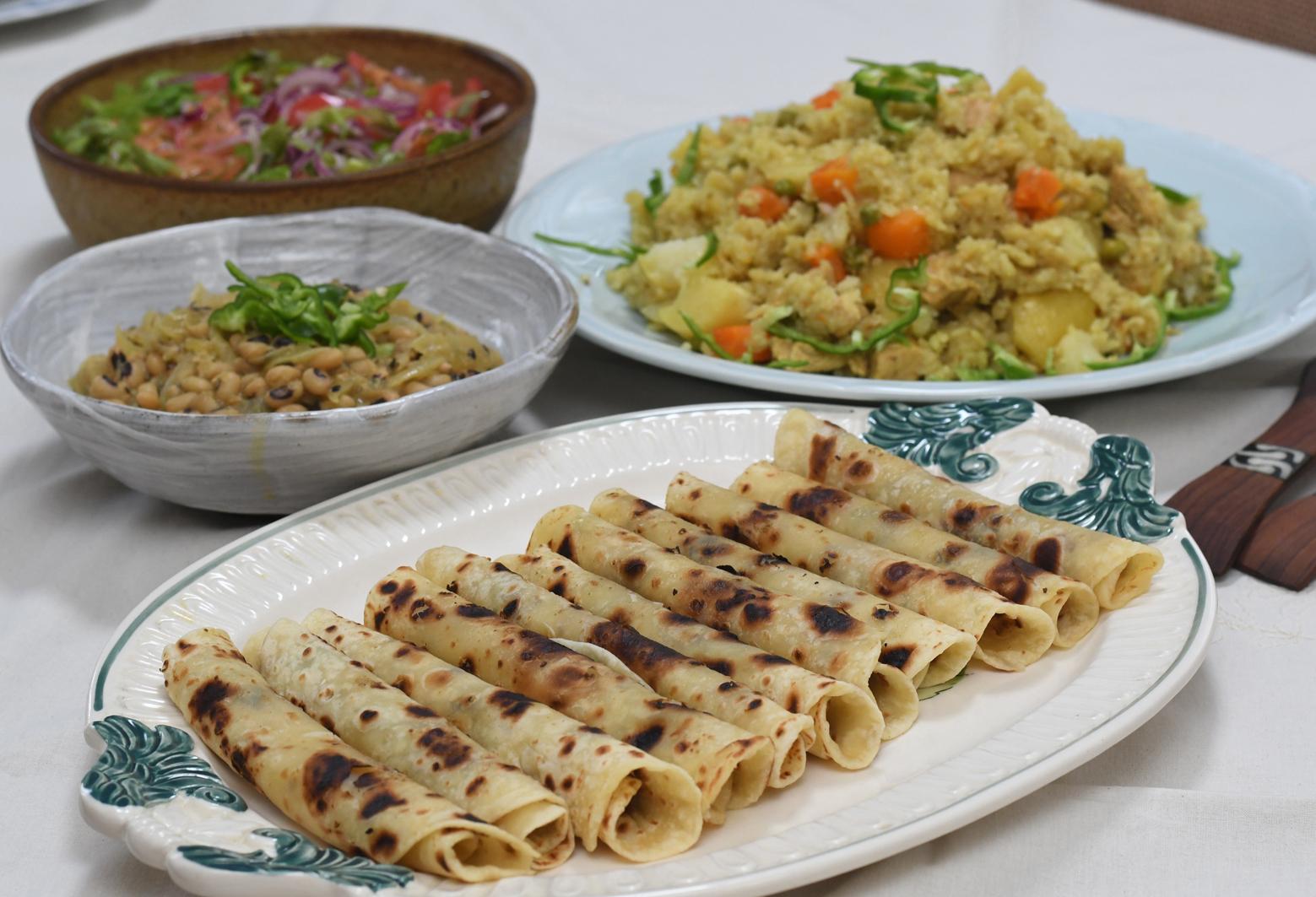 カウィーチェさんのケニア料理