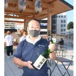 水戸の地酒フェス開幕 地酒を新しい生活様式の中、楽しく乾杯