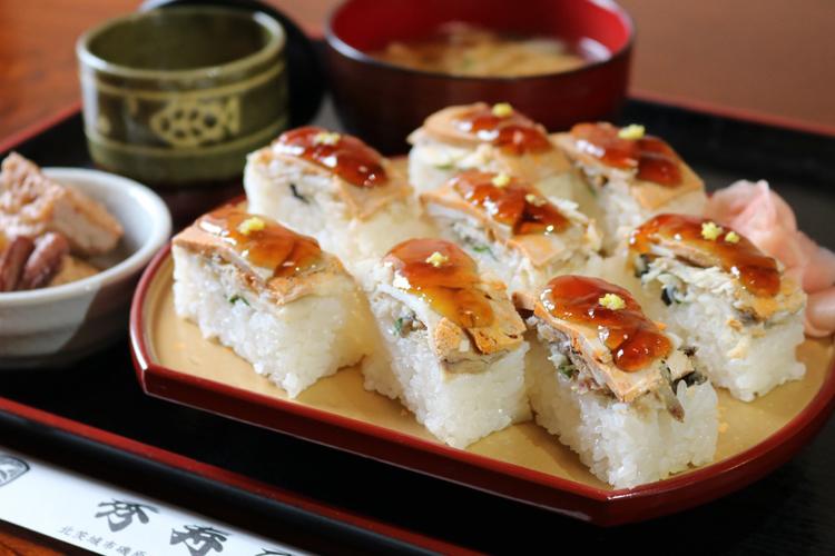あんこうの押し寿司