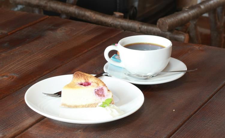 フランボワーズのチーズケーキ