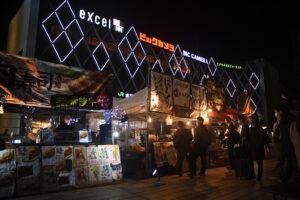 水戸駅南ペデストリアンデッキで「水戸ワールドフードフェスティバル」開幕 29日まで
