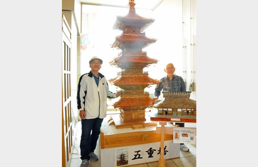 根本さんと小野木さんと2人の作品