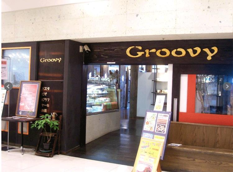 パスタ専門店グルービー京成店店頭の画像