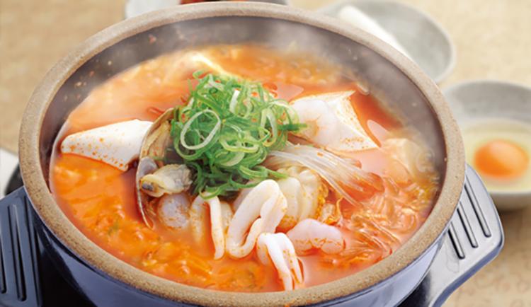 韓丼の鍋メニュー画像