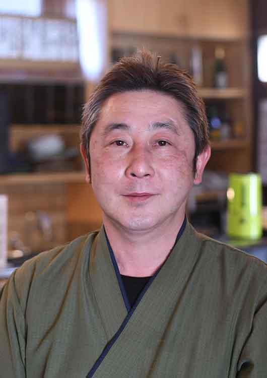 新富鮨の店主の写真