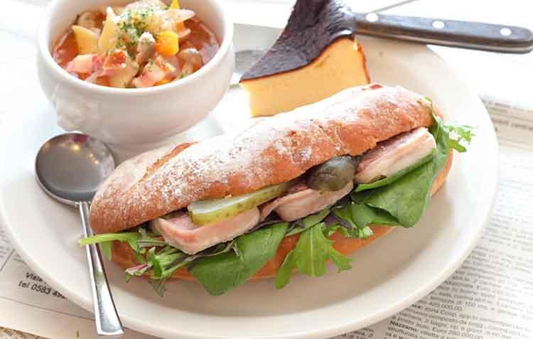 ママノエルのサンドイッチの画像