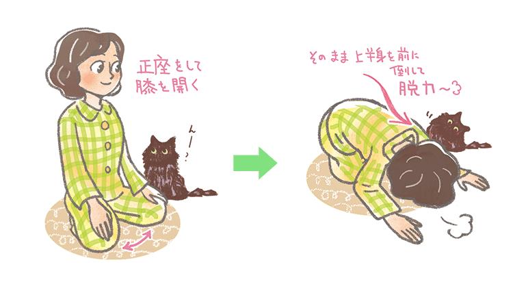 かんたん安眠ストレッチ(1)
