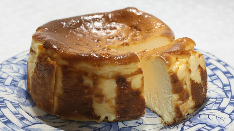 奥久慈バスクチーズケーキ