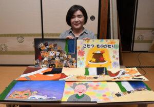 夢を届ける「花まる子」 絵本や紙芝居を制作する藤枝さん(茨城・茨城町)